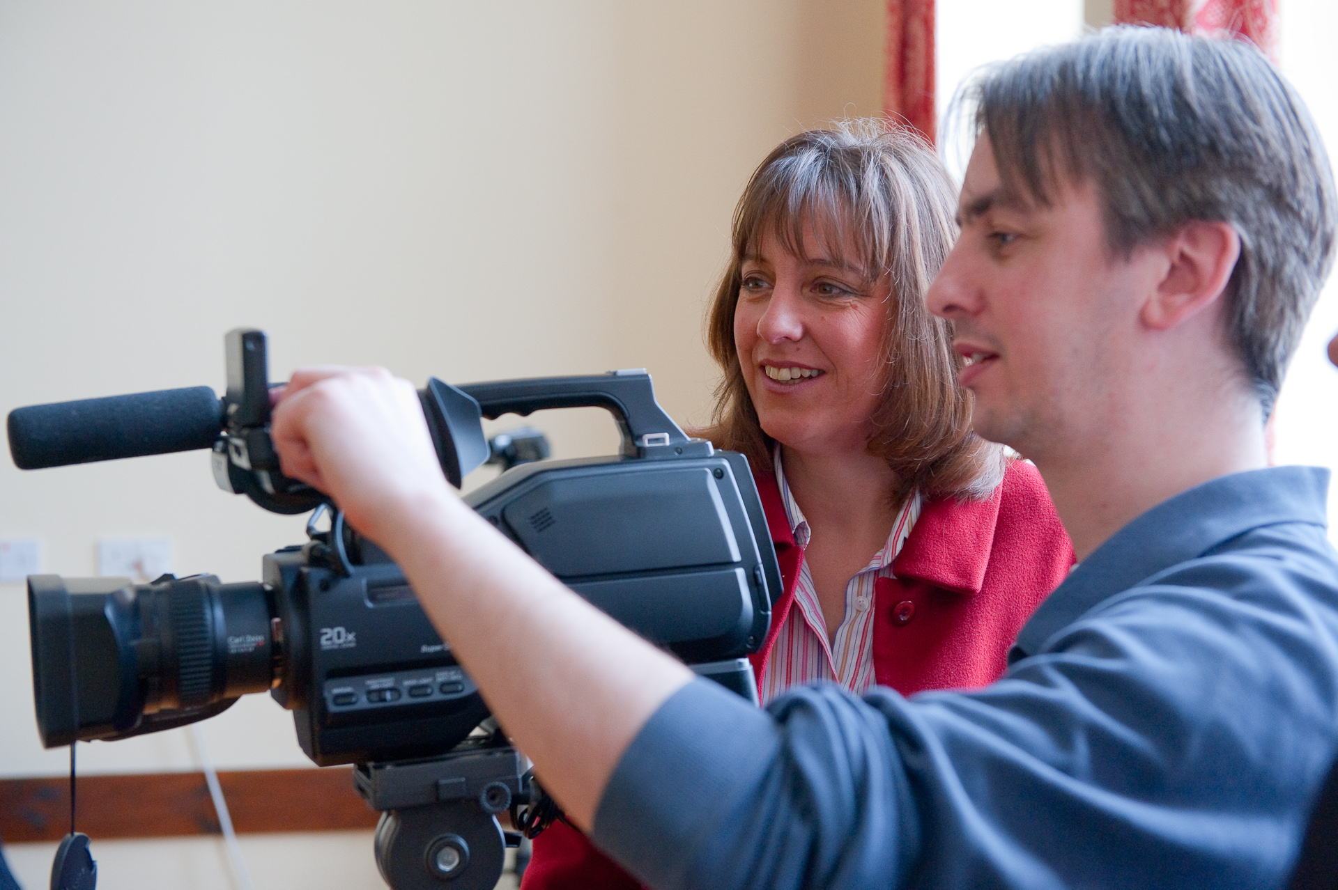 Video Producer, Mark and Client